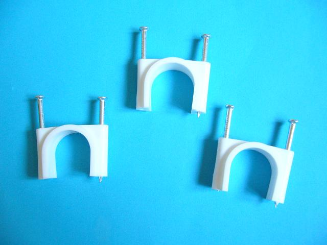 Cable Clips With Double Nails
