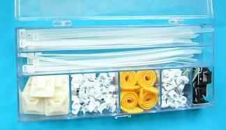 DIY Pack: Cable ties, Cable Clips, Vecro Cable Ties, Tie Mounts